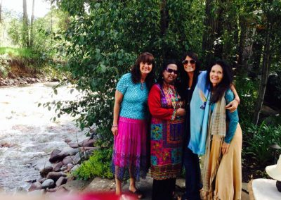 Mynoo Vibha Joanie and Daya in Aspen