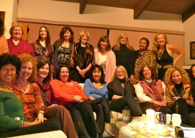Mynoo and large San Francisco womens gathering