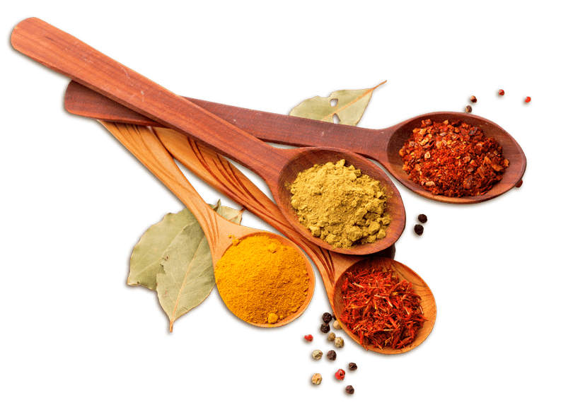 Spoons Spices