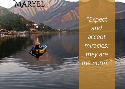 Quote accept miracles