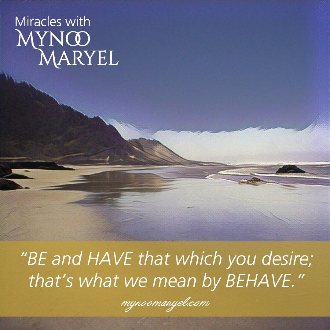 BE and HAVE quote of Mynoo