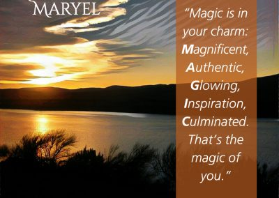 Magic quote